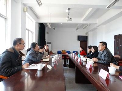 青岛旅游学校领导来院洽谈 3 2 贯通培养事宜