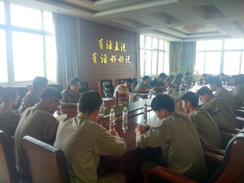 吕海金带领4位教师前往惠城环保科技有限公司进行(简称惠城科技)走访