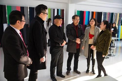 艺术学院师生参加717智谷服装设计师联盟会员招募暨
