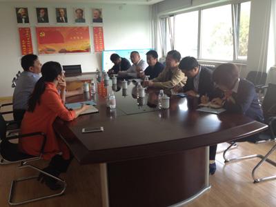 党委书记刘鹏照带队走访黄岛街道办事处-青岛职业技术