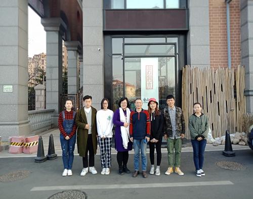 旅游学院茗轩茶艺队与青岛大学茶艺社团赴香山小舍开启茶文化和古琴