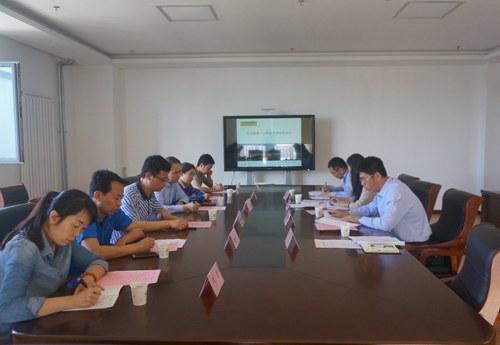 陕西工业职业技术学院来访-青岛职业技术学院